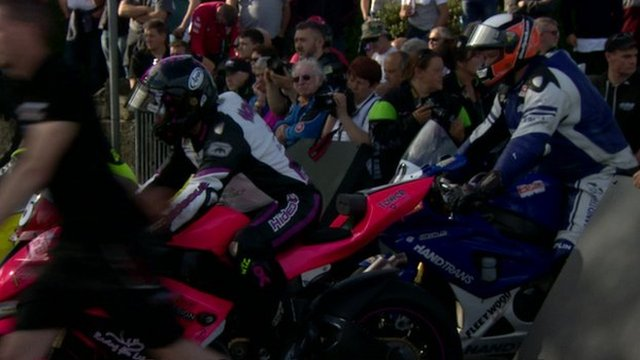 VIDEO: Riders gear up for Isle of Man TT